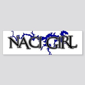 NACI GIRL [3] Bumper Sticker